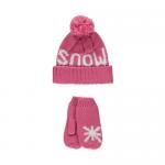 "Набор ""Snow"" (шапка+варежки)"